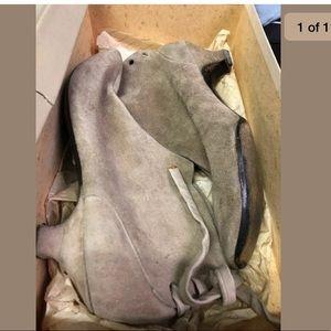 Christian Dior Soulier Vintage Suede Boots